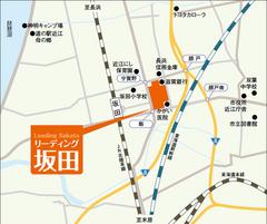 リーディング坂田-地図